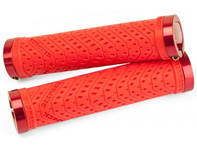 Sixpack K-Trix Lock-On Griffe rot/rot